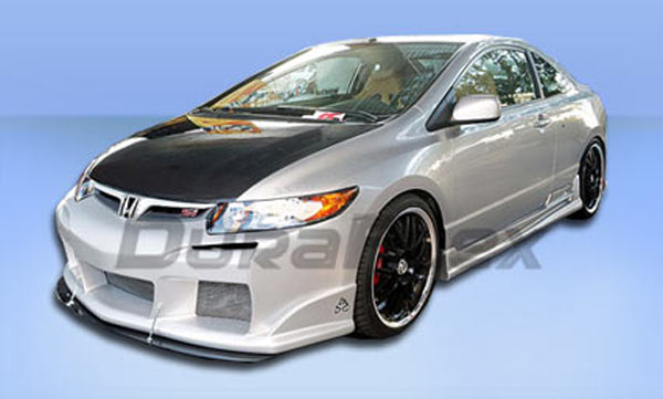 2006-2008 HONDA CIVIC 2D RAVEN FB