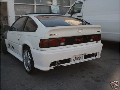 1984-1987 CRX MUGEN REAR BAR