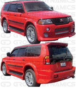 2000-2003 MITSUBISHI Montero Sport S/S