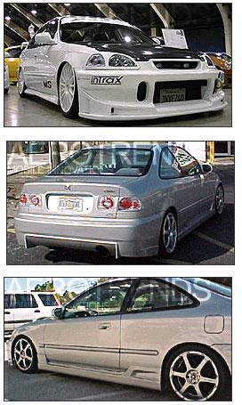1996-1998 CIVIC/2DR/4DR BC REAR BAR