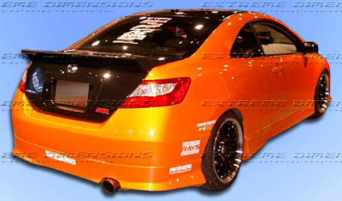 2006-2008 HONDA CIVIC 2D TYPE M REAR LIP