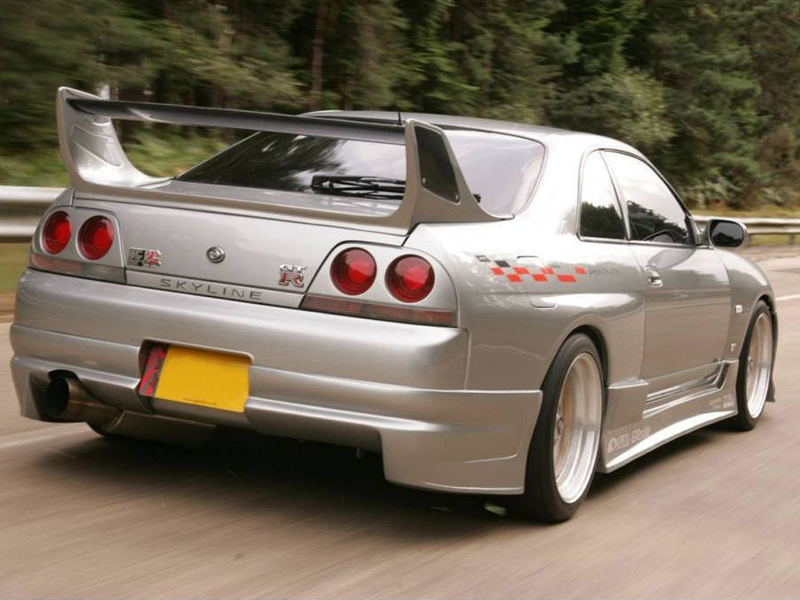 1993-1998 SKYLINE R33 TRIAL STYLE REAR BAR