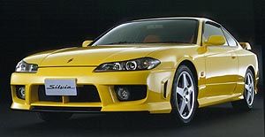 1999-2002 NISSAN S15 G-force (AERO) front bar